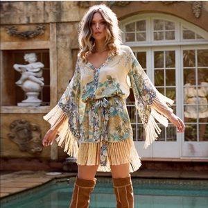 Willow Tassel Mini Dress